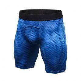 Sportovní kompresní šortky pánské BLUE SKIN Barva: Modrá, Velikost: XXL, Velikost dle značky: Pro obvod pasu (95-100cm)