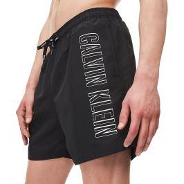 Šortkové plavky CALVIN KLEIN drawstring KM0KM00381 Barva: Černá, Velikost: S, Pro obvod pasu: Pro obvod pasu (83-86cm)