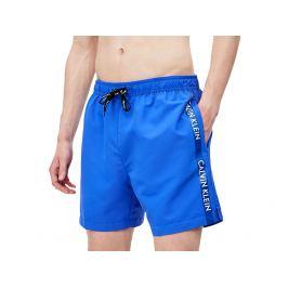 Šortkové plavky CALVIN KLEIN drawstring KM0KM00393 Royal Barva: Modrá, Velikost: S, Pro obvod pasu: Pro obvod pasu (83-86cm)