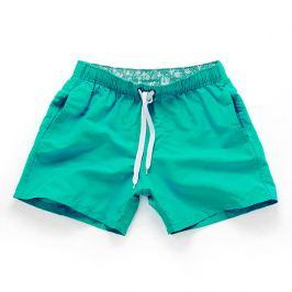 PLAVKY 3+1 ZDARMA Víceúčelové pánské šortkové plavky v 17 barvách! Barva: Zelená, Velikost: S, Pro obvod pasu: Pro obvod pasu (76-81cm)