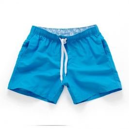 PLAVKY 3+1 ZDARMA Víceúčelové pánské šortkové plavky v 17 barvách! Barva: Modrá, Velikost: XS