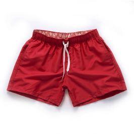 PLAVKY 3+1 ZDARMA Víceúčelové pánské šortkové plavky v 17 barvách! Barva: Červená, Velikost: XS, Pro obvod pasu: Pro obvod pasu (69-74cm)