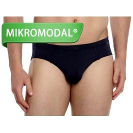 Slipy s Micro Modalem DOREANSE Premium 1011 Černá Barva: Černá, Velikost: M, Pro obvod pasu: Pro obvod pasu (83-86cm)
