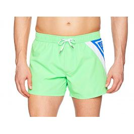 Pánské šortkové plavky GUESS Neon Barva: Zelená, Velikost: L, Pro obvod pasu: Pro obvod pasu (85-90cm)