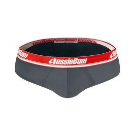 AussieBum PŘEDPRODEJ ♛ Slipy z mikrovlákna AussieBum Journey Brief Charcoal Barva: Šedá, Velikost: XL, Pro obvod pasu: Pro obvod pasu (90-95cm)