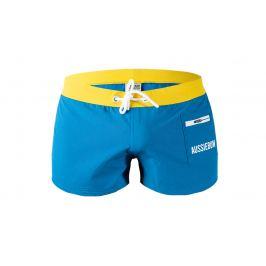 AussieBum PŘEDPRODEJ ♛ Šortkové plavky AussieBum Surfbeach Blue Barva: Modrá, Velikost: S, Pro obvod pasu: Pro obvod pasu (75-80cm)