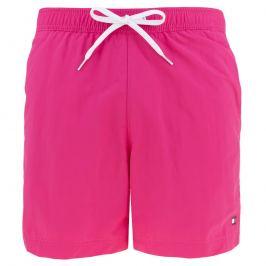 Šortkové plavky Tommy Hilfiger CONTRAST DRAWSTRING UM0UM01080-T1Il Barva: Růžová, Velikost: M