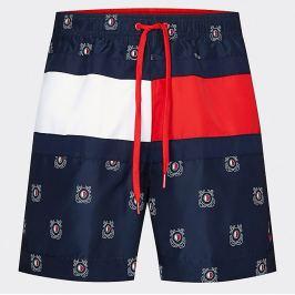Šortkové plavky Tommy Hilfiger Nautical Flag UM0UM01722 0hb Barva: Modrá, Velikost: M