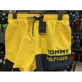 Šortkové plavky Tommy Hilfiger UM0UM01683 ZGT Barva: Žlutá, Velikost: M