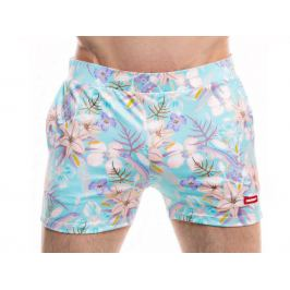 HUNK² Šortkové plavky Badehose Lucertola Barva: Modrá, Velikost: XL