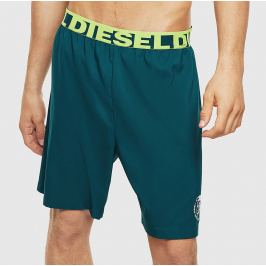 Šortkové plavky Diesel BMBX-PLAYSUN 5BX CALZONCINI Barva: Zelená, Velikost: M