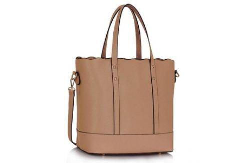 L&S Fashion LS00361 kabelka přes rameno starorůžová Dámské kabelky