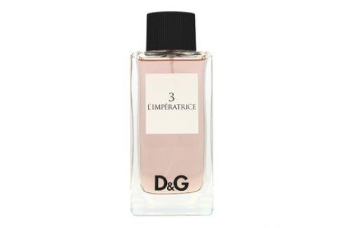 Dolce & Gabbana D&G L´Imperatrice 3 toaletní voda pro ženy 100 ml toaletní voda