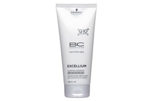 Schwarzkopf Professional BC Bonacure Excellium Plumping Shampoo šampon pro jemné vlasy 200 ml Dámská vlasová kosmetika
