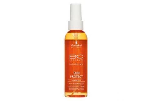 Schwarzkopf Professional BC Bonacure Sun Protect Shimmer Oil olej se třpytkami pro vlasy namáhané sluncem 150 ml Dámská vlasová kosmetika