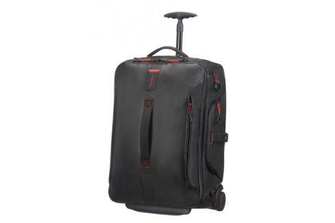 Samsonite Kabinová taška s kolečky PARADIVER 51 l - černá Cestovná batožina