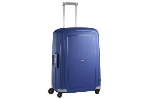 Samsonite Cestovní kufr S'Cure Spinner 10U 70 l - modrá Cestovná batožina