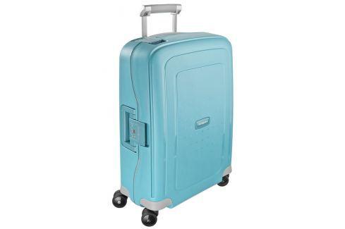 Samsonite Kabinový cestovní kufr S'Cure Spinner 10U 34 l - tyrkysová Cestovná batožina