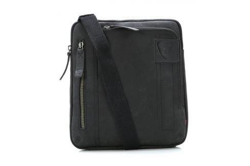 Strellson Pánská taška přes rameno 4010001455, černá Tašky a aktovky