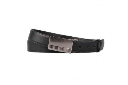 Penny Belts Pánský kožený opasek nadměrná velikost - černý 30-020-2PS - 120 Opasky a traky