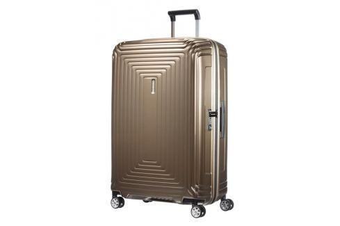 Samsonite Cestovní kufr Neopulse Spinner 44D 94 l - hnědá Cestovná batožina