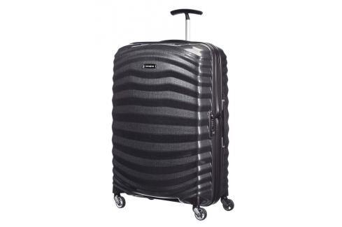 Samsonite Cestovní kufr Lite-Shock Spinner 98V 73 l - černá Cestovná batožina