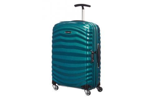 Samsonite Kabinový cestovní kufr Lite-Shock Spinner 98V 36 l - modrá Cestovná batožina