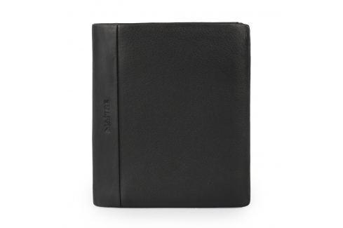 Maître Pánská kožená peněženka Arnfred 4060001446 - černá Peňaženky