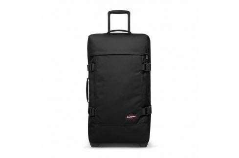 EASTPAK Cestovní taška Tranverz M Black 78 l Cestovná batožina