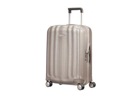 Samsonite Kabinový cestovní kufr Lite-Cube Spinner 33V 43,5 l - zlatá Cestovná batožina
