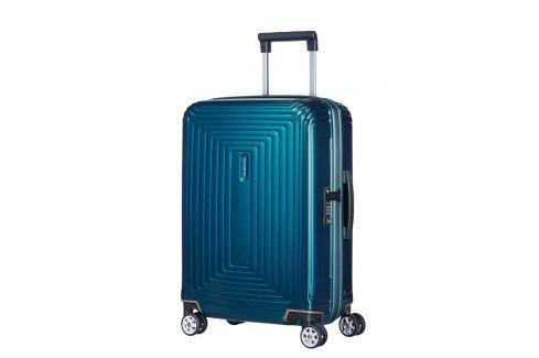 Samsonite Kabinový cestovní kufr Neopulse Spinner 44D 44 l - modrá Cestovná batožina