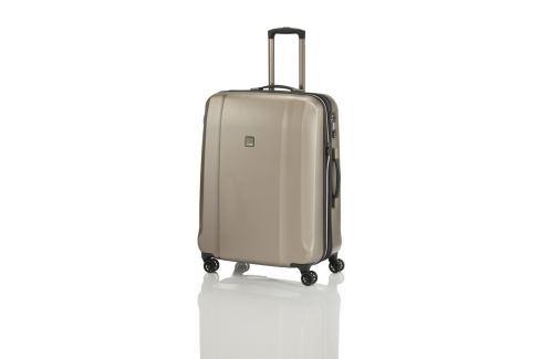 Titan Cestovní skořepinový kufr Xenon Deluxe M+ 103/117 l Cestovná batožina