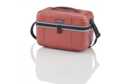 Travelite Skořepinový kosmetický kufřík Vector Beauty case 72003-88 Cestovná batožina