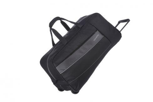 Travelite Cestovní taška Kite 2w Travel Bag Black 89901-01 68 l Cestovná batožina
