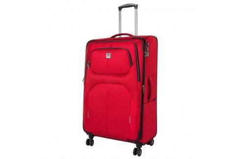Titan Cestovní kufr Nonstop 4w L Red 108/122 l Cestovná batožina