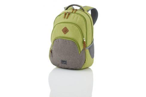 Travelite Městský batoh Basics Backpack Melange Green/grey 96308-80 22 l Batohy