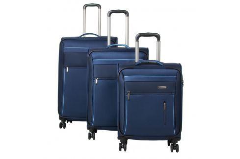 Travelite Cestovní sada kufrů 4w S,M, L + cestovní brašna Capri 89840-20 Sady cestovních kufrů