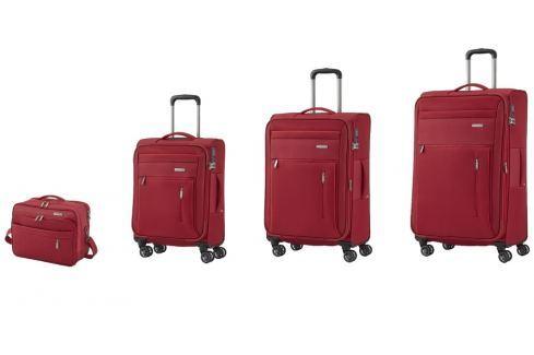 Travelite Cestovní sada kufrů 4w S,M, L + cestovní brašna Capri 89840-10 Sady cestovních kufrů