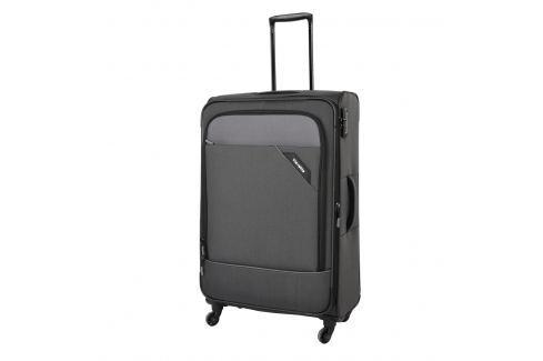 Travelite Cestovní kufr Derby 4w L Anthracite 87549-04 102/115 l Cestovná batožina