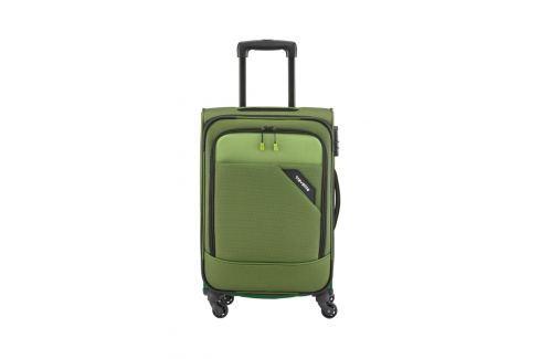 Travelite Kabinový kufr Travelite Derby 4w S Green 41 l Cestovná batožina