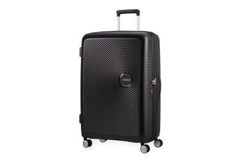American Tourister Cestovní kufr Soundbox Spinner EXP 32G 97/110 l - černá Cestovná batožina