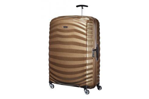 Samsonite Cestovní kufr Lite-Shock Spinner 98V 124 l - hnědá Cestovná batožina