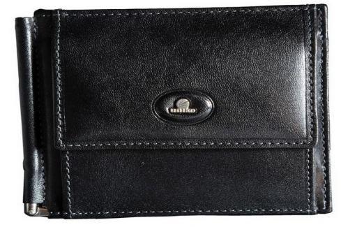 Uniko Pánská kožená peněženka 914398 - černá Peňaženky
