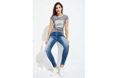 Moodo Jeansy dámské SKINNY Dámské kalhoty