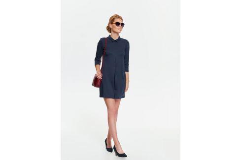 Top Secret šaty dámské tmavě modré s límečkem Dámské šaty