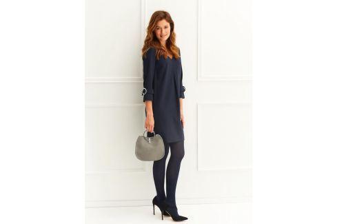 Top Secret šaty dámské v tmavě modré barvě s 3/4 rukávem Dámské šaty
