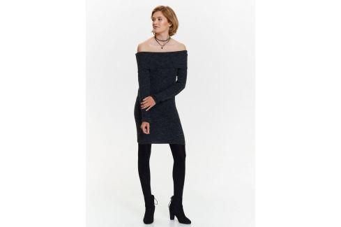 Top Secret šaty dámské pletené s odhalenými rameny Dámské šaty