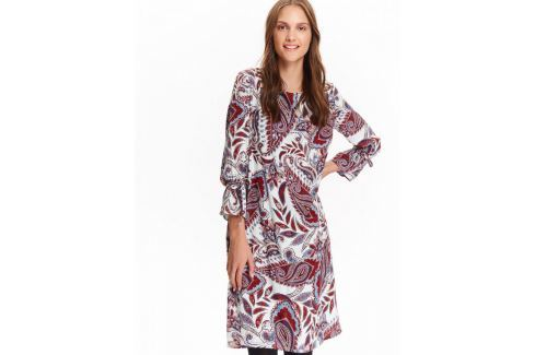 Top Secret šaty dámské vzorované s 3/4 rukávem Dámské šaty