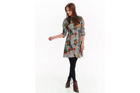 Top Secret šaty dámské květované se šněrováním Dámské šaty