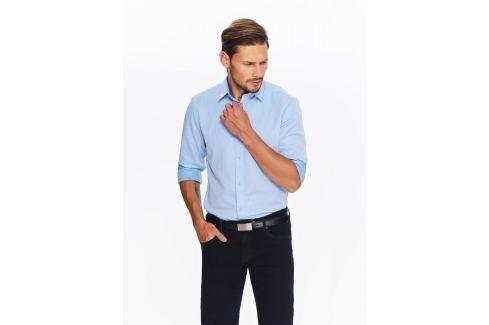 Top Secret Košile pánská světle modrá s dlouhým rukávem Pánské košile
